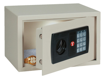 Mini-Safe, Hoteltresor beige