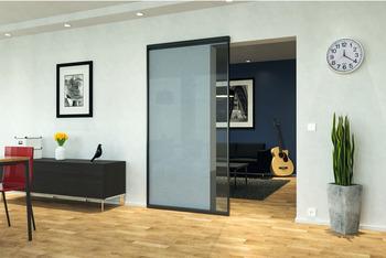 Schiebeturbeschlag Slido Design 80 M Rahmentur Fur Glasfullung