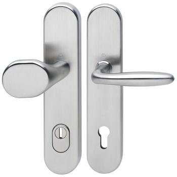 Hoppe Wechselgarnitur Tür Beschlag für FH Tür einseitig Knauf//einseitig Drücker