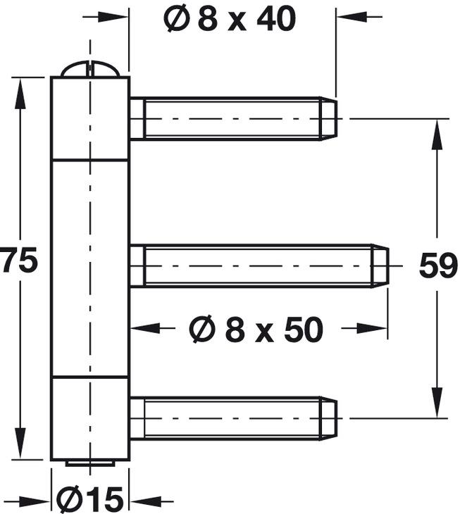 einbohrband simonswerk baka c 1 15 wf baka c 2 15 wf f r gef lzte innent ren bis 60 kg im. Black Bedroom Furniture Sets. Home Design Ideas