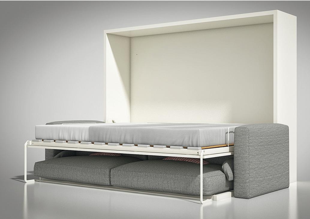 klappbett beschlag bettsofa teleletto ii mit rahmen lattenrost und sofarahmen im h fele. Black Bedroom Furniture Sets. Home Design Ideas