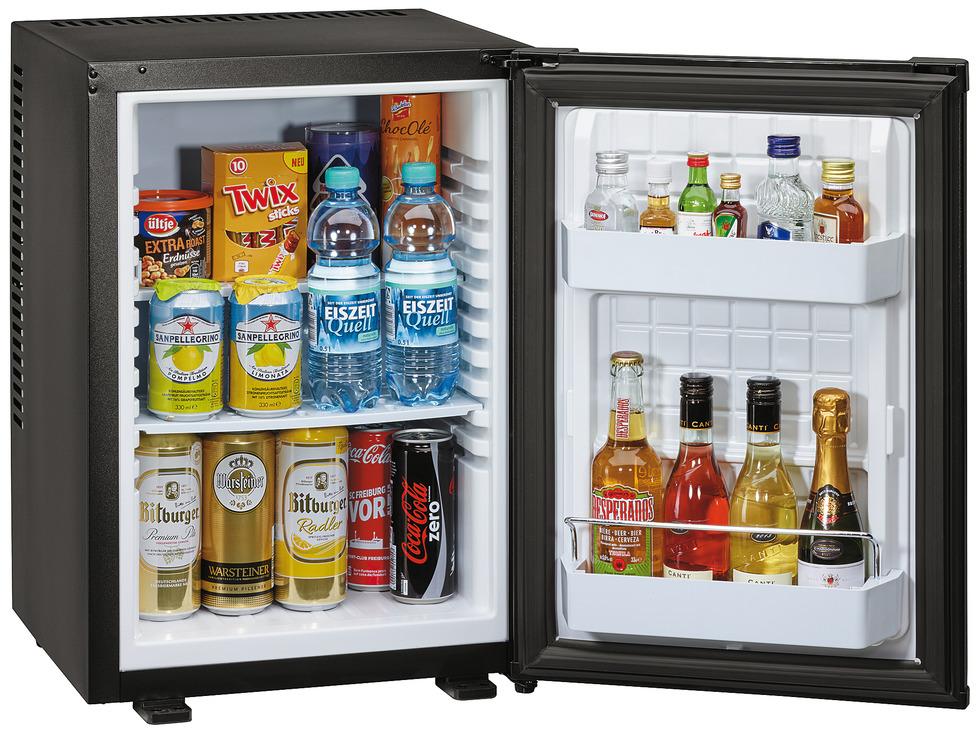 Minibar Als Kühlschrank Nutzen : Kühlschrank minibar 40 liter mit peltier technologie geräuschlos