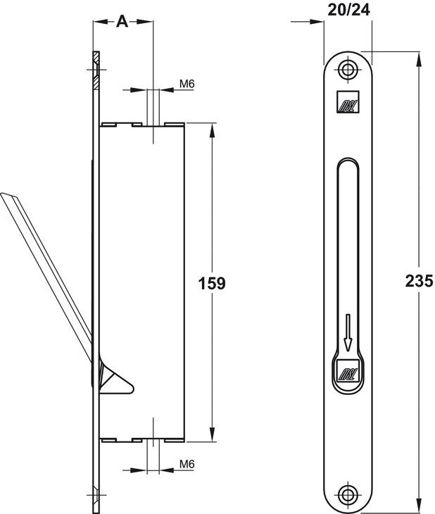 panik standfl gel verriegelung falztreibriegel msl 1708 rsi im h fele sterreich shop. Black Bedroom Furniture Sets. Home Design Ideas