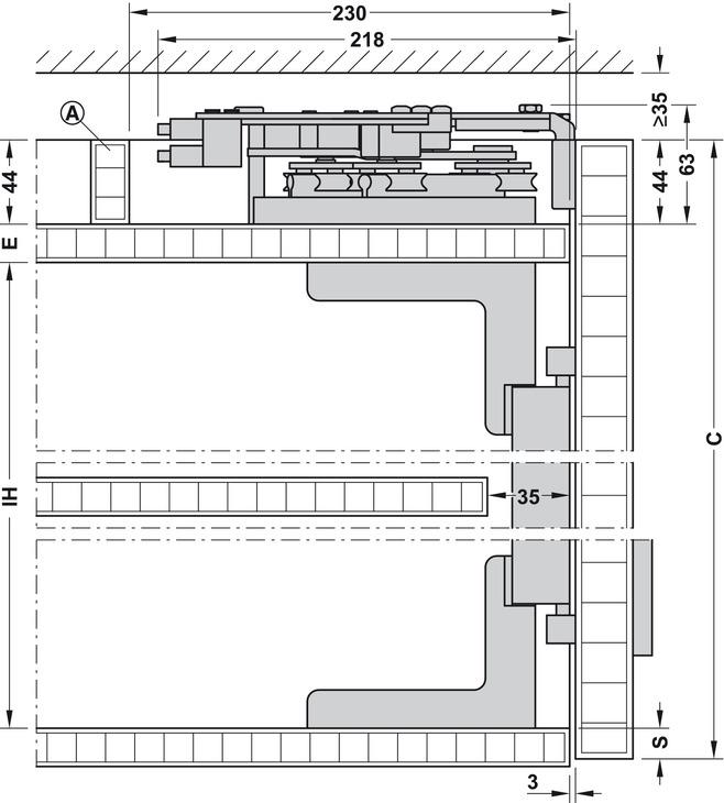 finetta flatfront e 35 fb standard garnitur im h fele. Black Bedroom Furniture Sets. Home Design Ideas
