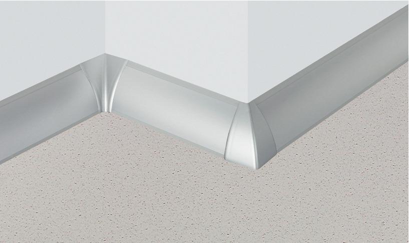 wandanschlussprofil convex 25 x 38 mm profilleiste im. Black Bedroom Furniture Sets. Home Design Ideas